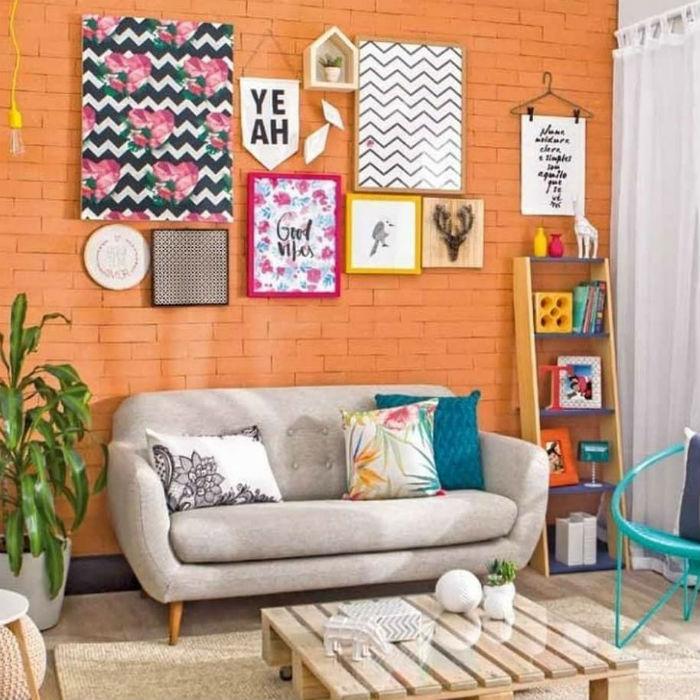 Quadros para sala pequena: 14 ideias para harmonizar ambiente