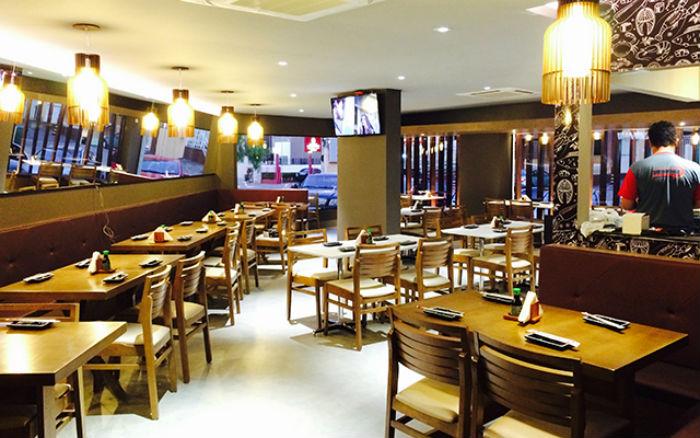 Restaurante japonês sjc