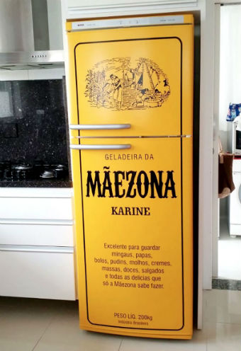 Envelopamento de geladeira: saiba como dar um up na decoração