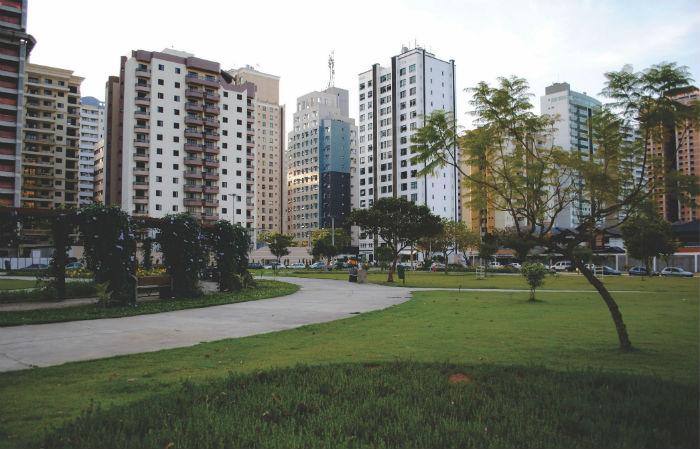 Construtora SJC: vista da cidade
