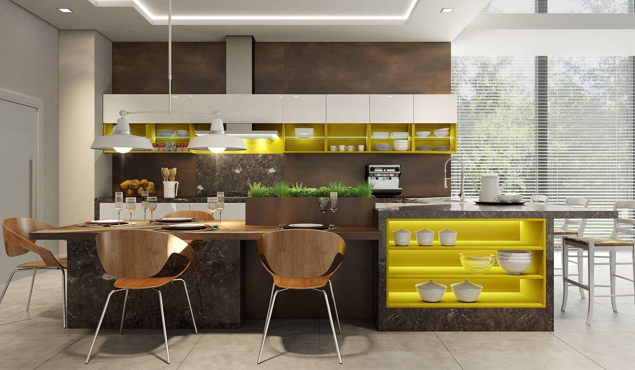 Móveis planejados: vantagens de uma cozinha planejada