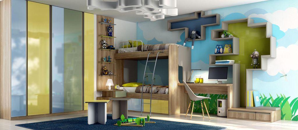 Móveis planejados: quarto jovem