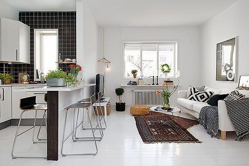 Móveis planejados: cozinha e sala integradas