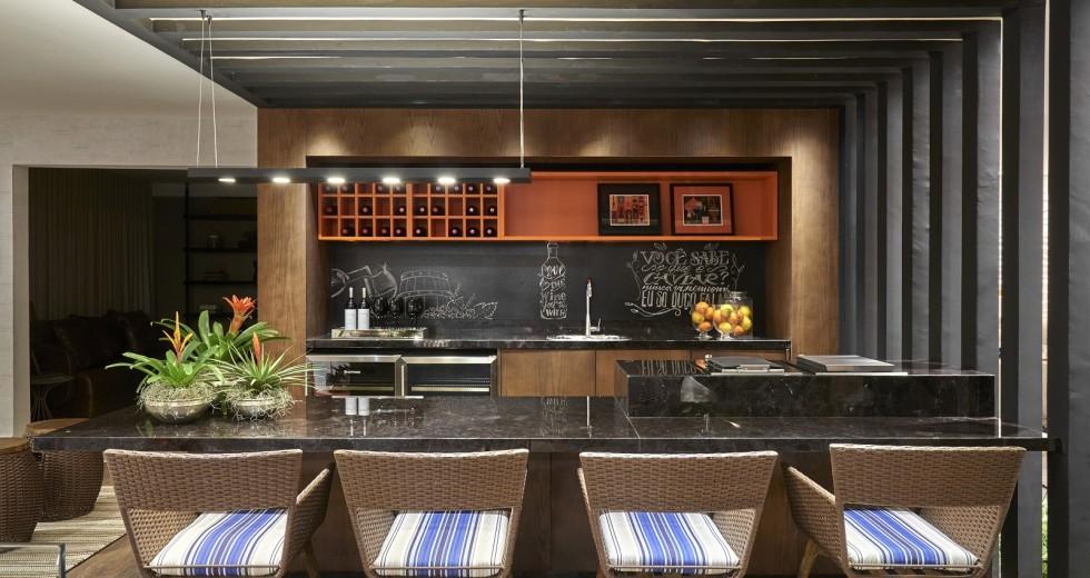 Cozinha americana: linda