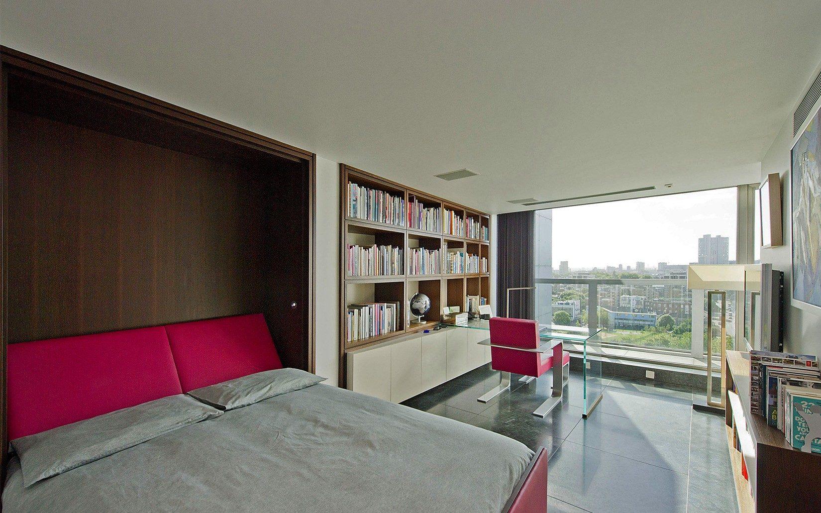 Decoração de quarto de casal: uma vista relaxante