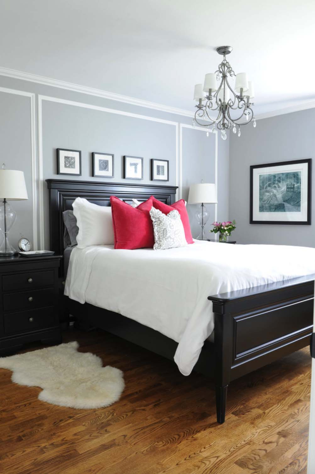 Decoração de quarto de casal: chique e relaxante