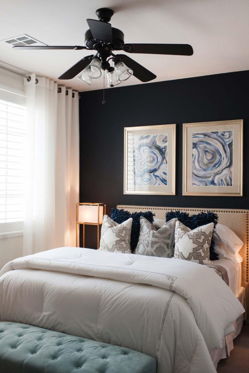 Decoração de quarto de casal: suavidade