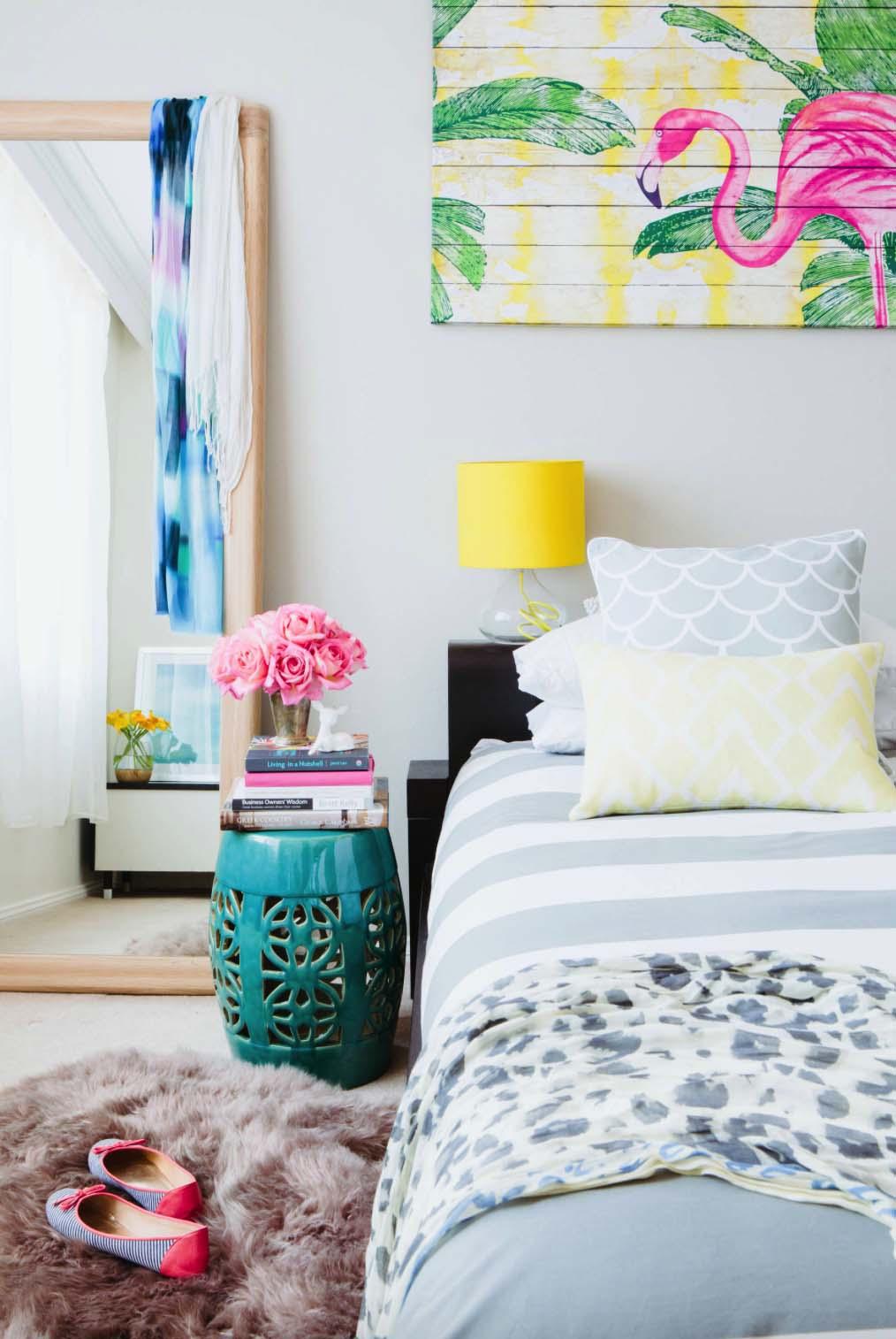 Decoração de quarto de casal: com toques de alegria