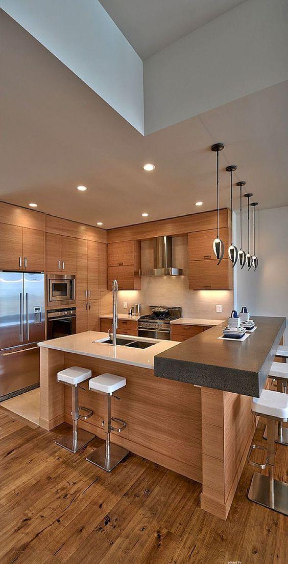 Cozinha americana: clean
