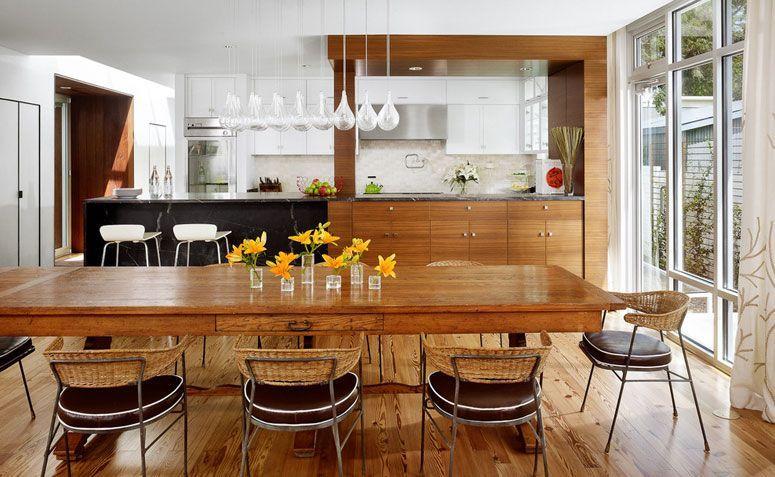 Cozinha americana: moderna