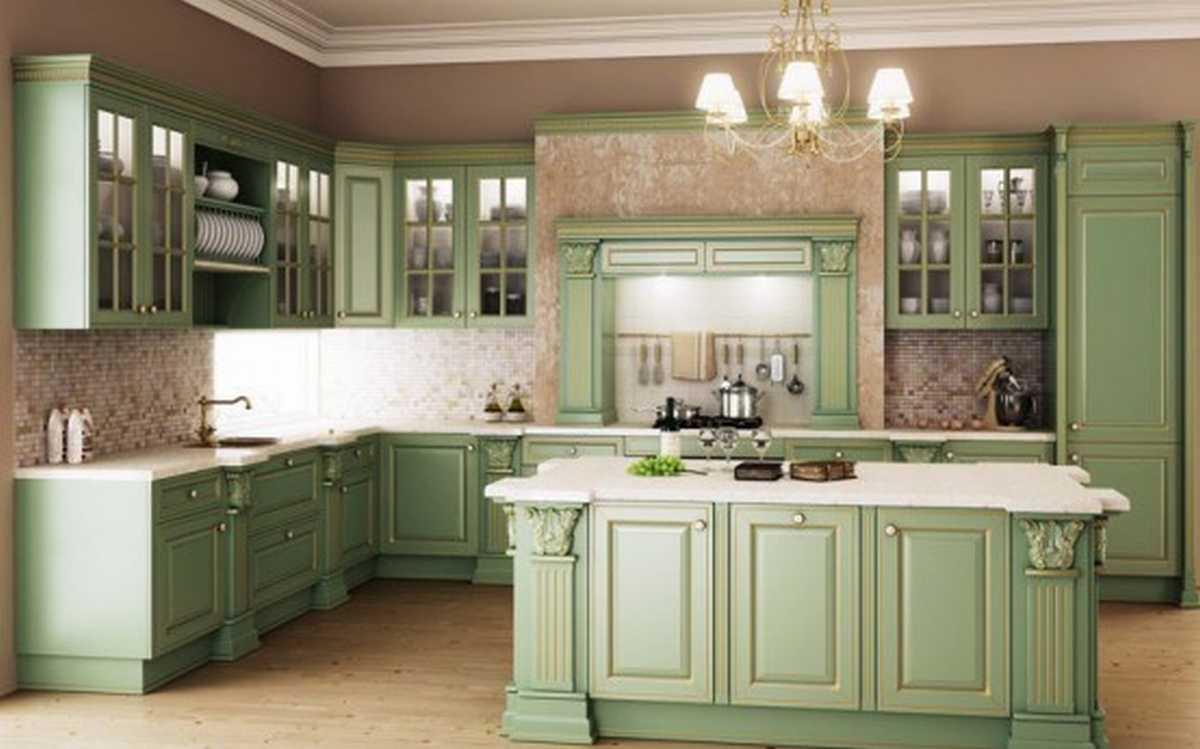 Cozinha americana: romântica
