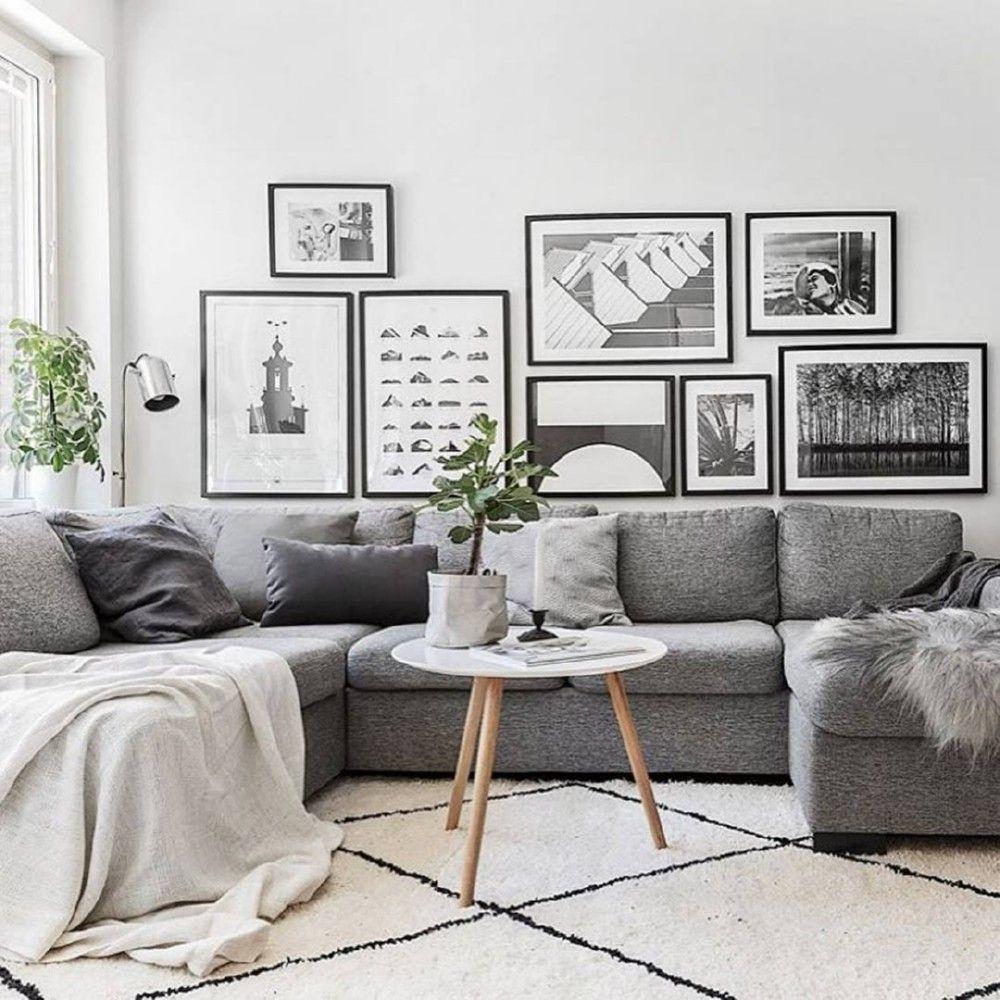 Salas decoradas: moderna