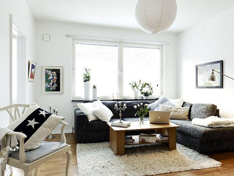 Salas decoradas: simples