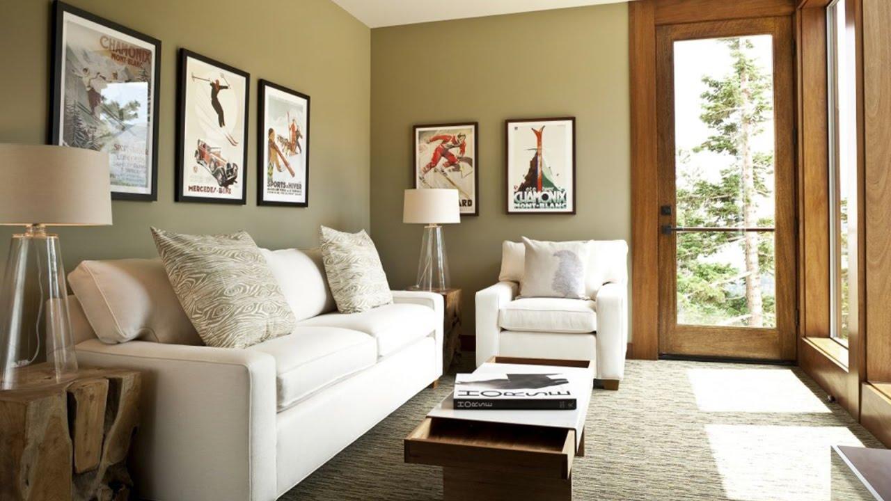 Salas decoradas: confortable