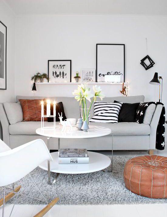 Salas decoradas: branco