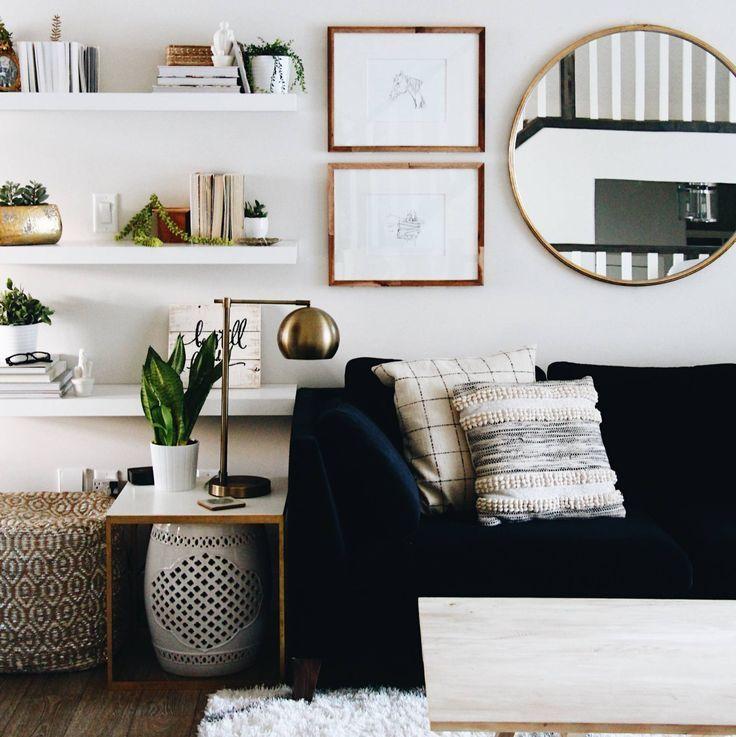 Salas decoradas: pequena