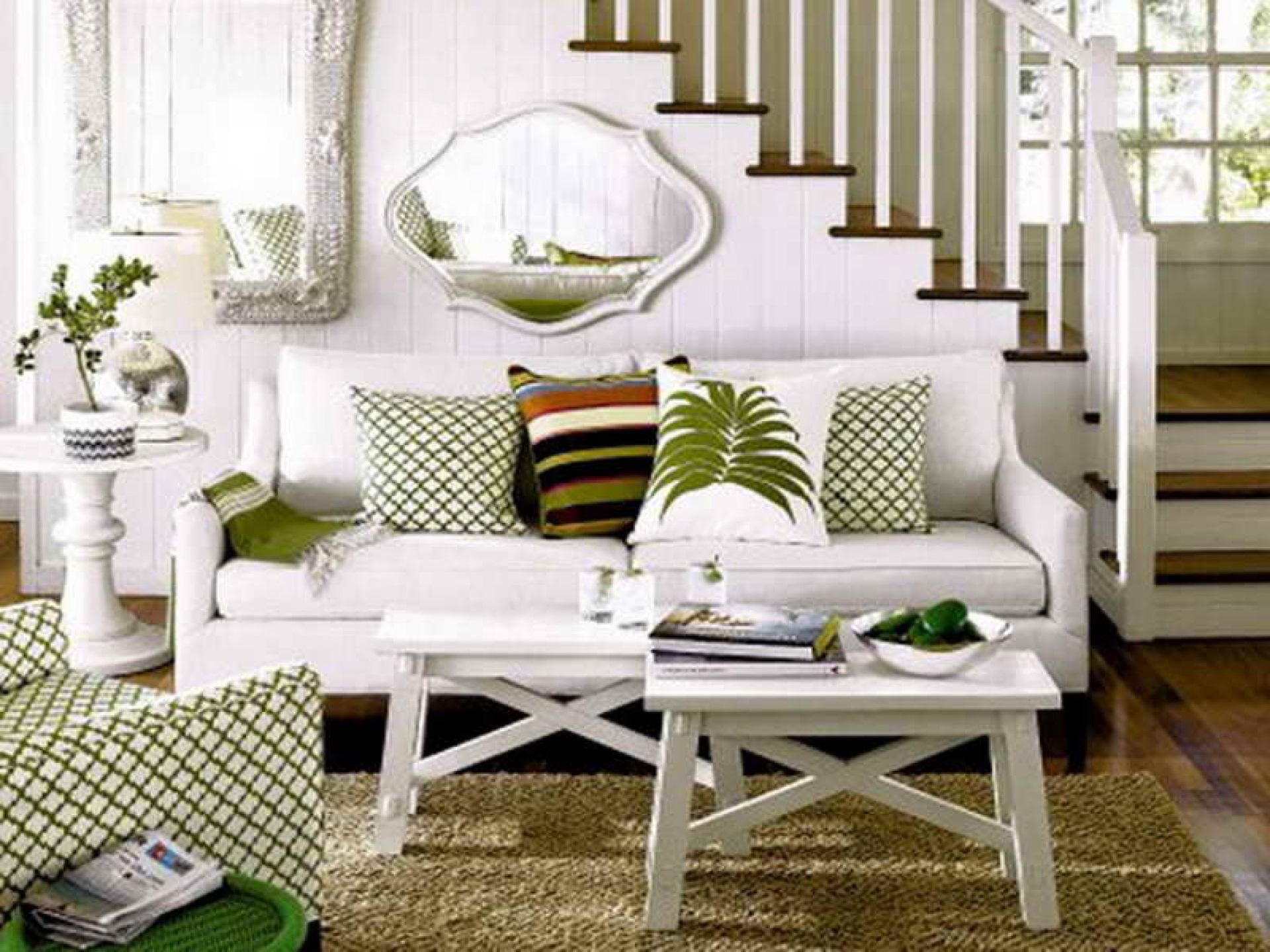 Salas decoradas: branquinha