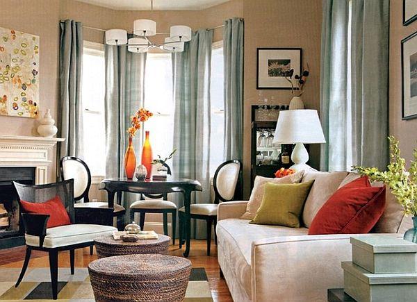 Salas decoradas: charmosa
