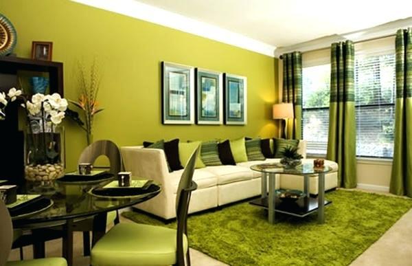 Cores de tintas para sala: amarelo esverdeado