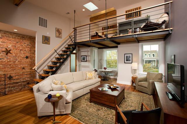Salas decoradas: loft