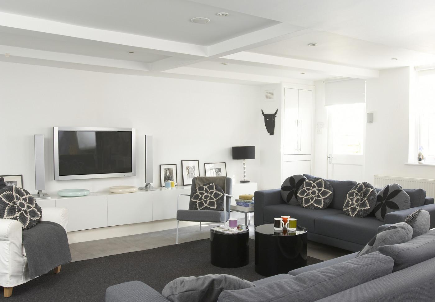 Salas decoradas: para TV