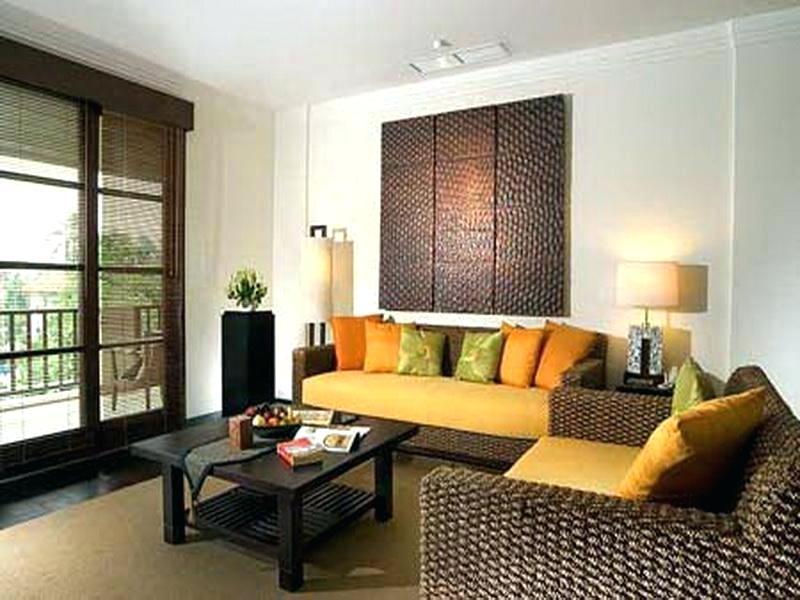 Salas decoradas: amarela