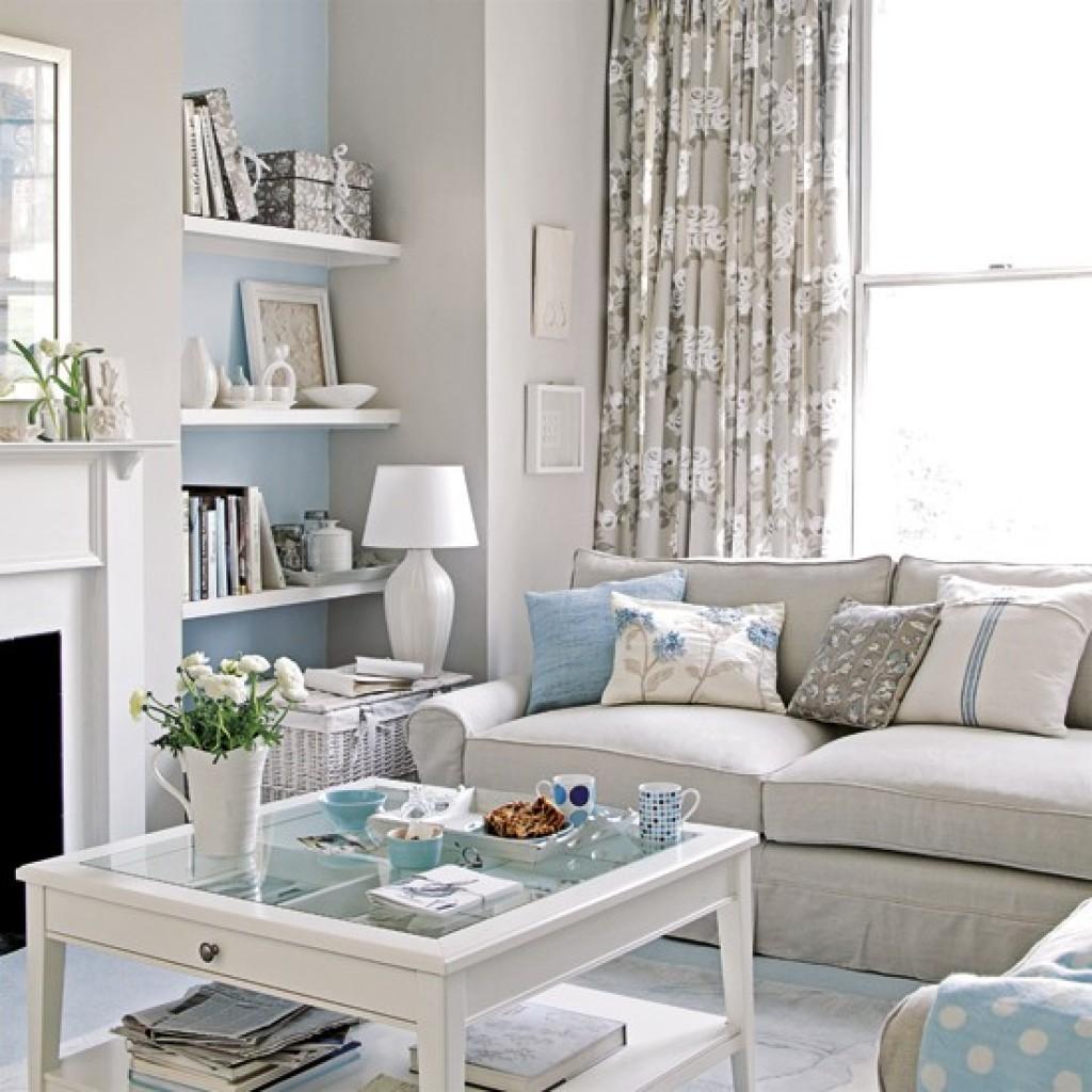 Salas decoradas: bem clarinha
