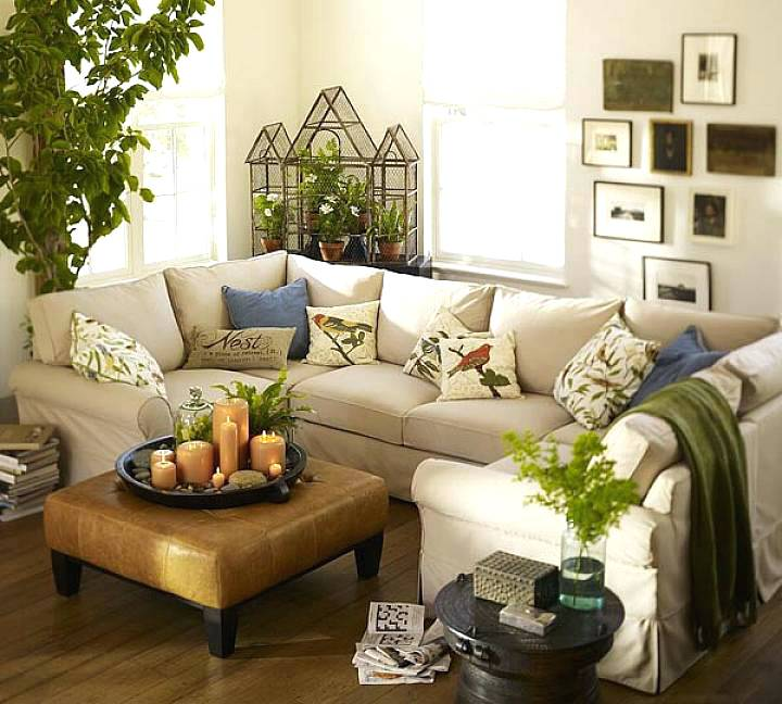 Salas decoradas: para descansar