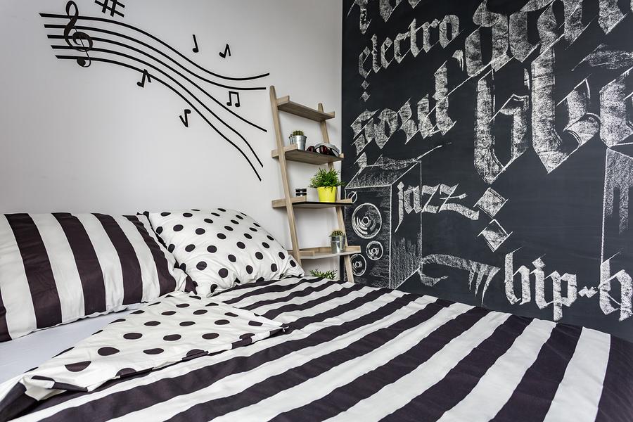 Chalckboard: no quarto