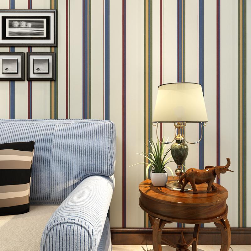 Papel de parede para sala de estar listras