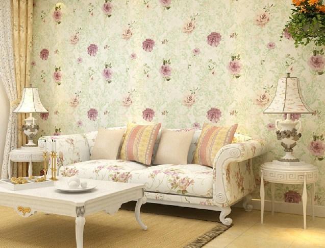 Papel de parede para sala de estar delicadeza