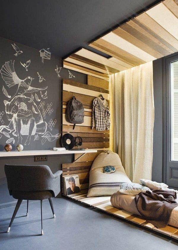 Chalckboard: um quarto bem jovem
