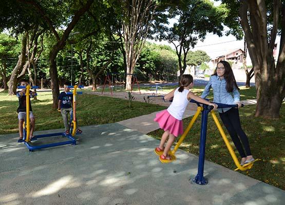 Jardim Aurelia: praça