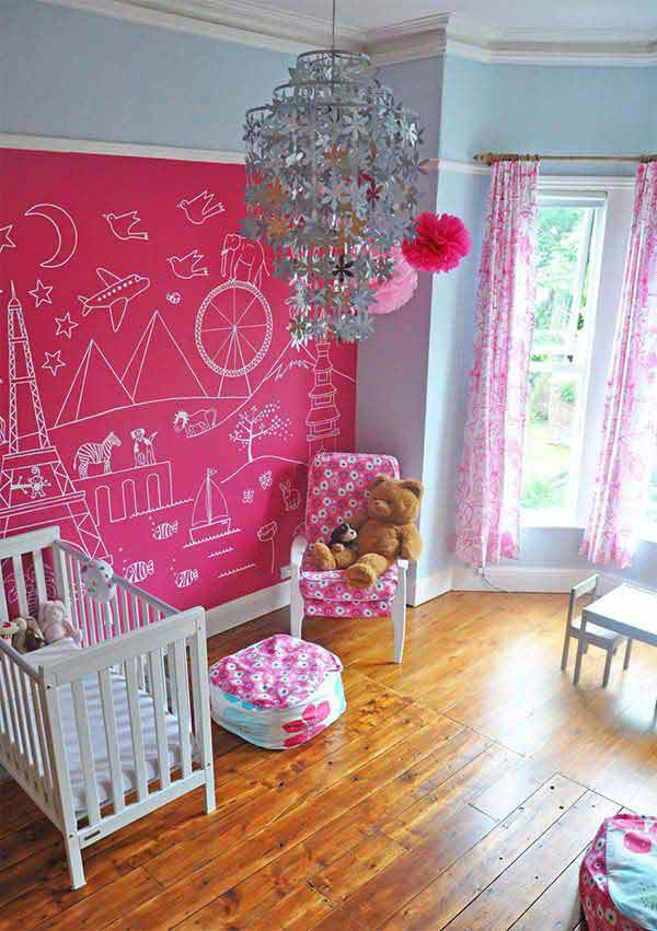 Chalckboard: cor de rosa
