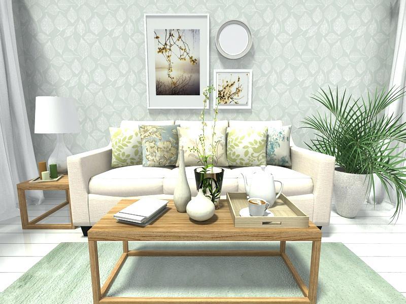 Papel de parede para sala de estar bem clarinho