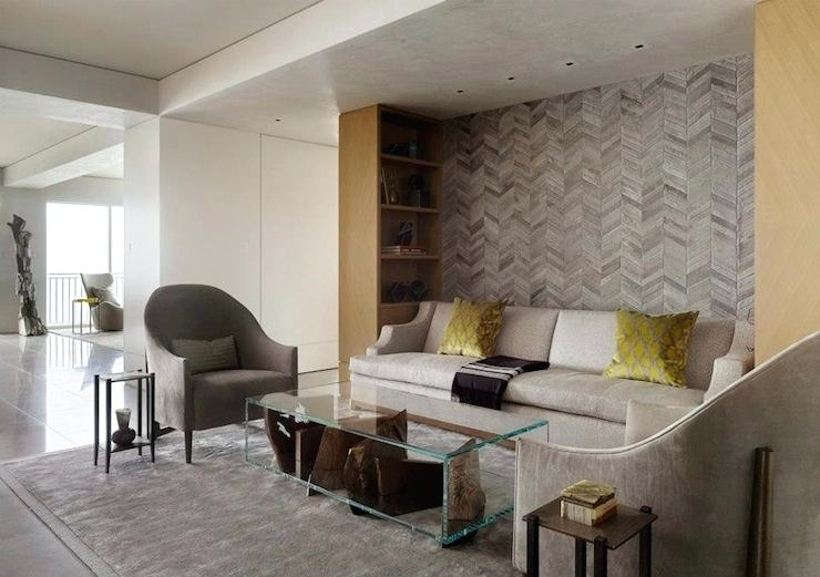 Papel de parede para sala de estar estilosa