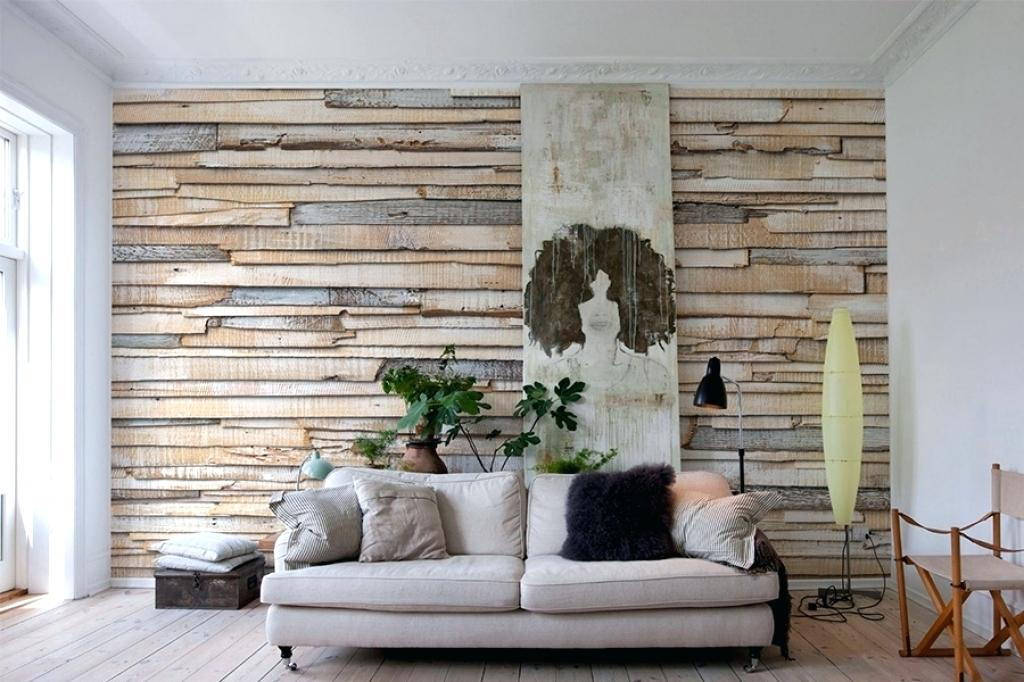 Papel de parede para sala de estar pedras filetadas
