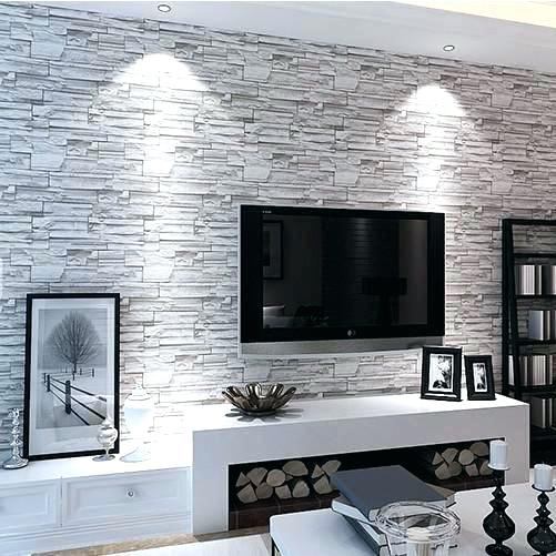 Papel de parede para sala de estar texturizada