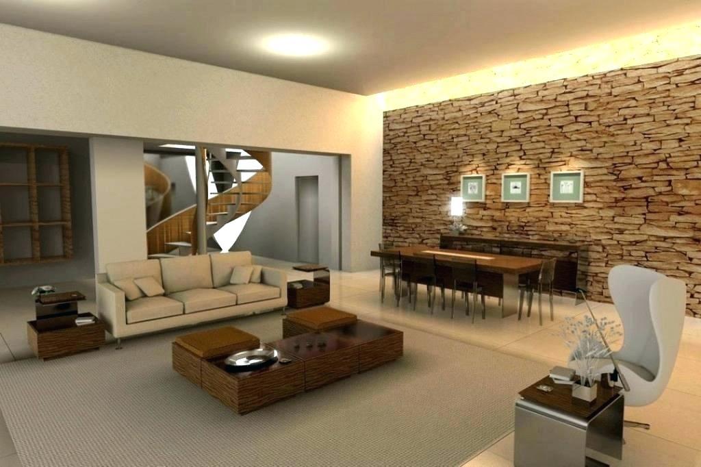 Papel de parede para sala de estar parede tijolinho
