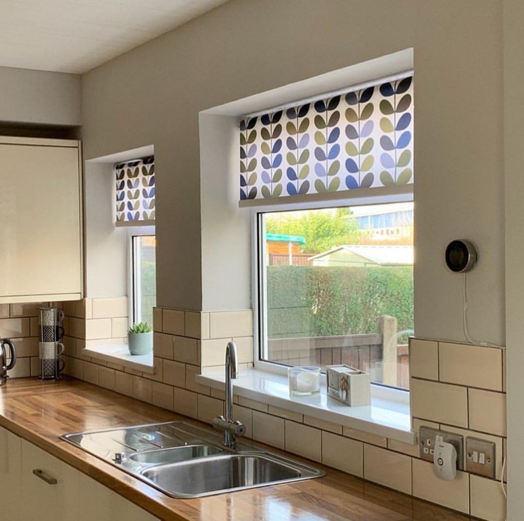 Cortina persiana: cortina estampada