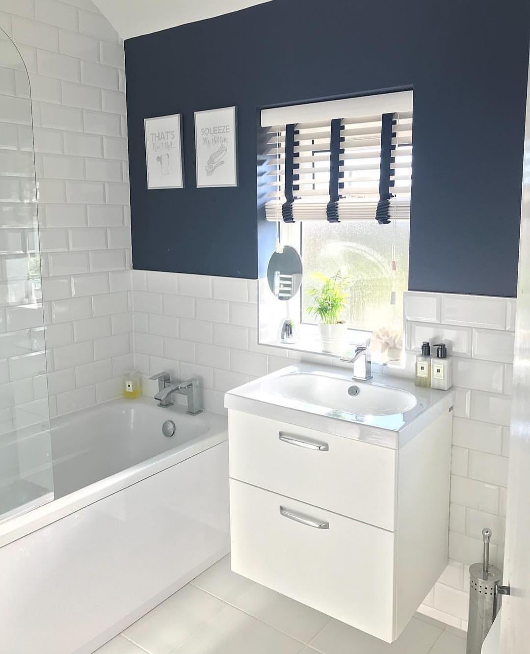 Cortina persiana: banheiro estiloso