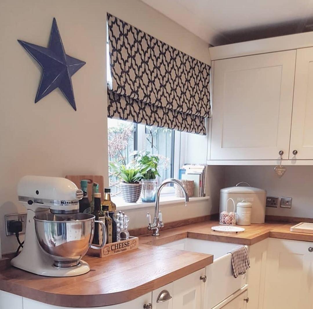 Cortina persiana: cozinha bonita