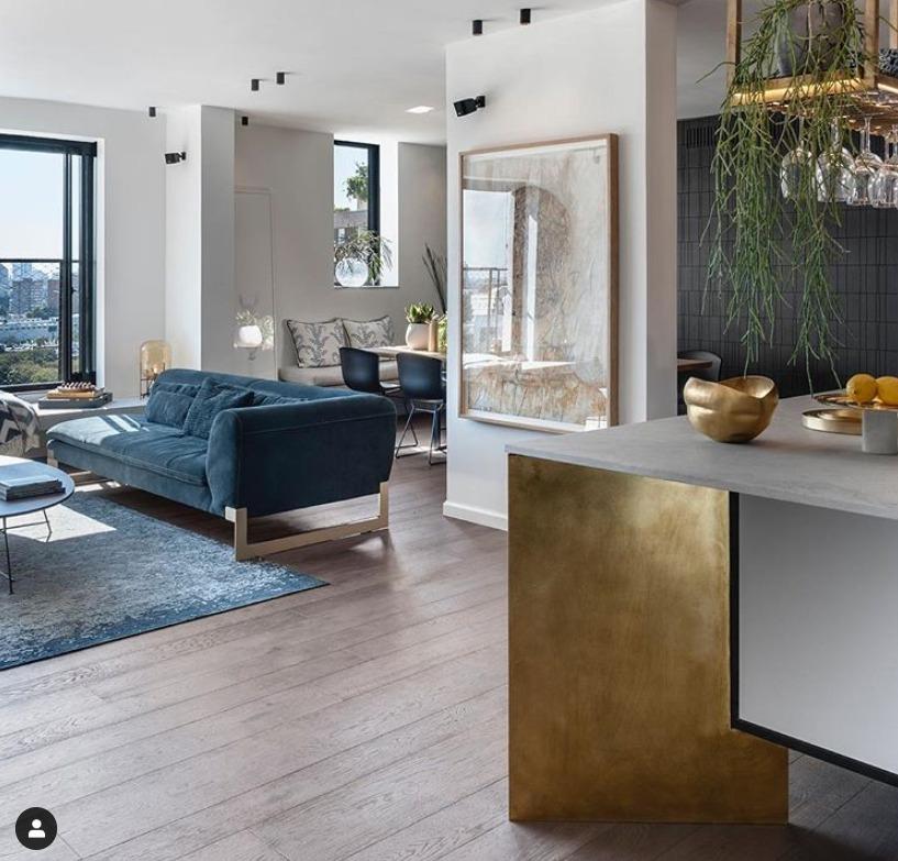 Decoração de sala: quadro e planta