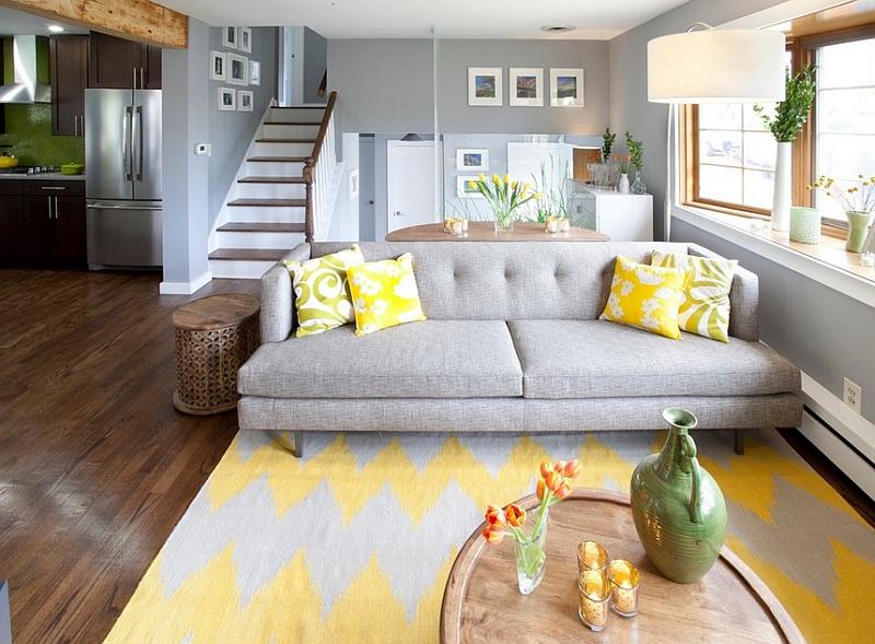 Decoração de sala: tapete