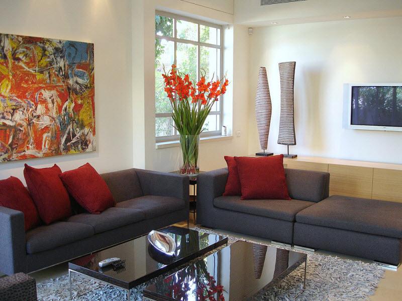 Decoração de sala: quadros