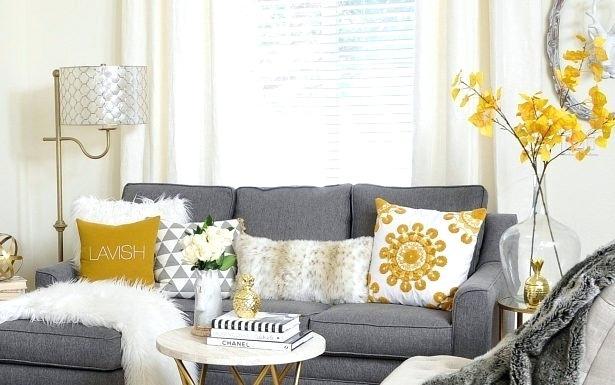 Decoração de sala: flores amarelas