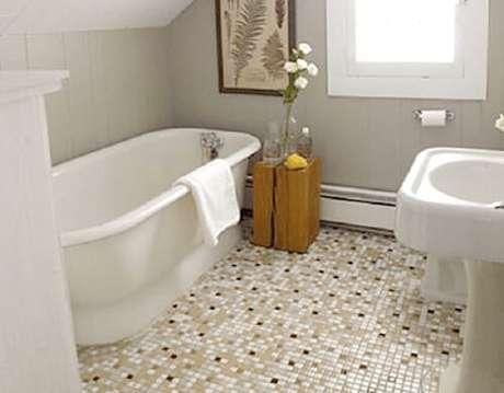 Piso para banheiro: pastlhas