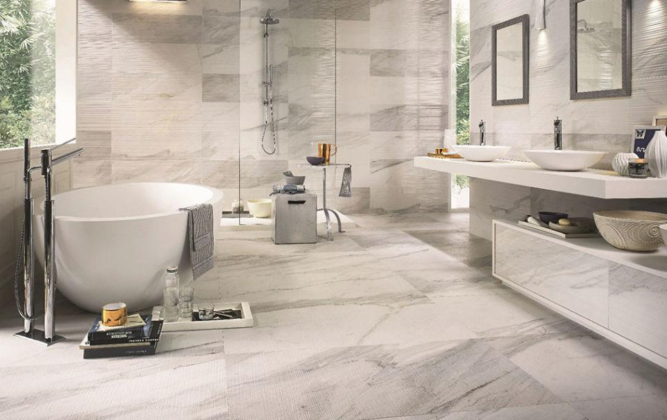 Piso para banheiro: lindo - porcelanato
