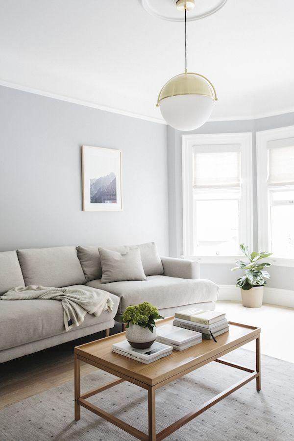 Decoração de sala: sala clara
