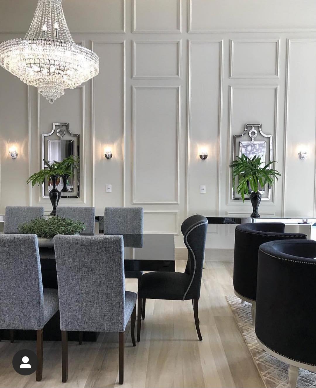 Boiserie: sala clássica